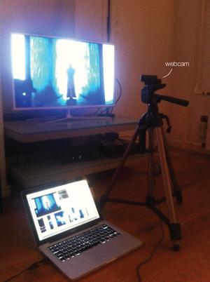 setup-TV-slitscan