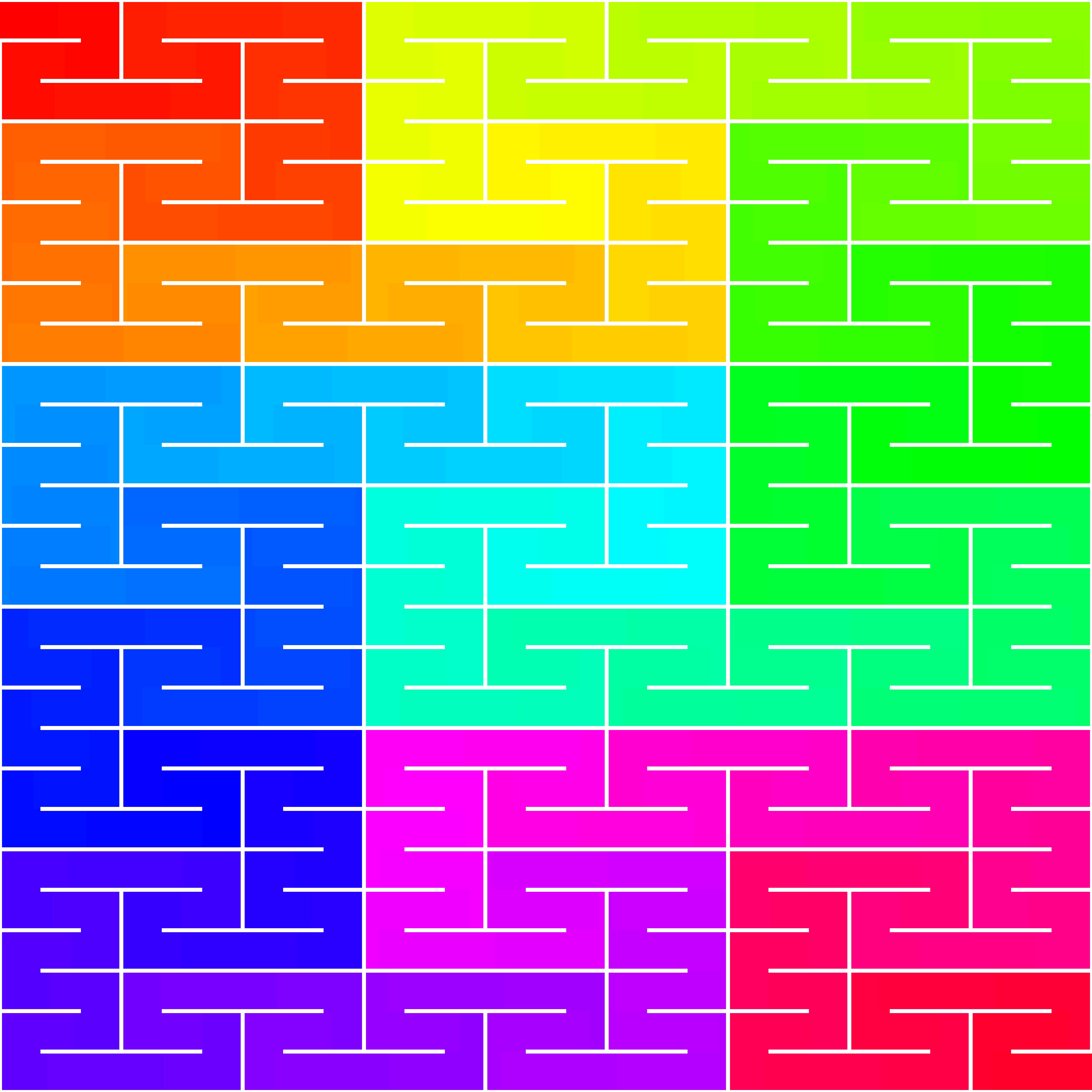 peano rainbow